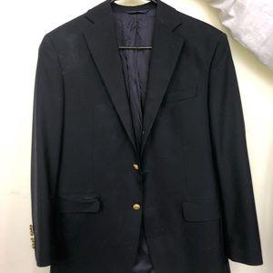 Brooks Brothers Madison Navy Wool Sport Coat